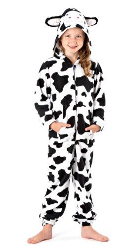 Grosse Auswahl von Herbst Winter Warme Jungen Mädchen Kinder Schlafanzug Nachtanzug Hausanzug Onesie Einteiler Strampelanzug (Strampelanzug Pyjama Mädchen)
