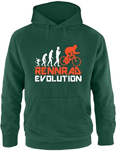 ezyshirtr-rennrad-evolution-herren-hoodie