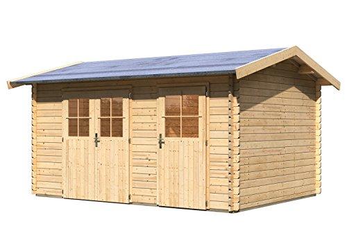 Woodfeeling Gartenhaus Wetrup 1 28 mm 2-Raum-Haus