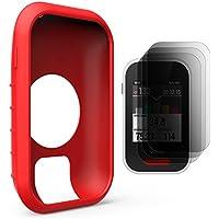 TUSITA Schutzhülle für Polar V650, Silikon Skin Tasche mit Display Schutz für Polar GPS Fahrrad Computer