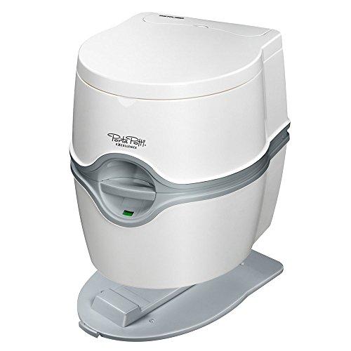 Thetford WC chimique portable Excellence pompe électrique et kit de fixation au sol