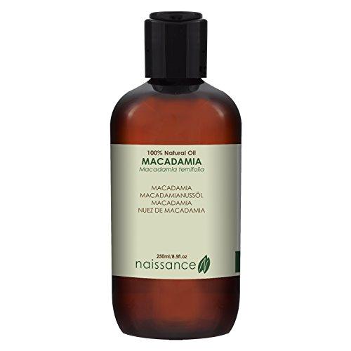 Naissance Nuez de Macadamia - Aceite Vegetal Prensado en Frío 100% Puro - 250ml