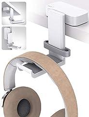 Lamicall Verstelbare Koptelefoonhouder, Universele Koptelefoonhouder voor Over-Ear Koptelefoons - Wit