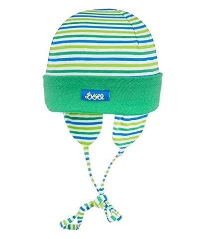Döll - Bonnet - Bébé garçon - Bleu (Kelly Green 5140) - FR: 39 cm (Taille fabricant: 39)