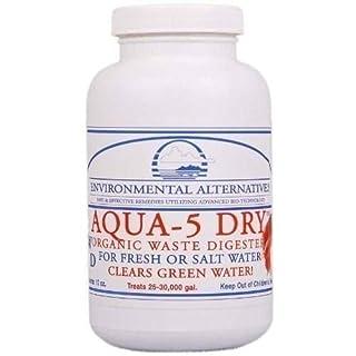 Environmental Alternatives AQUA-5 DRY Filterbakterien Teichbakterien Starterbakterien Wasserklärer für 75 m3, Ganz frische Ware