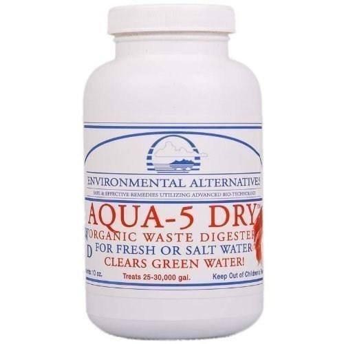 Environmental Alternatives AQUA-5 DRY Filterbakterien Teichbakterien Starterbakterien Wasserklärer für 75 m3, Ganz frische Ware -