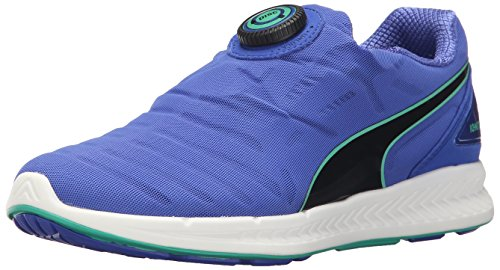 Puma Ignite Disc Synthétique Chaussure de Course DazzlingBlue-Black-MintLeaf