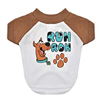 """Warner Brothers Scooby Doo""""Ruh Roh"""" Dog T Shirt, Size Medium 