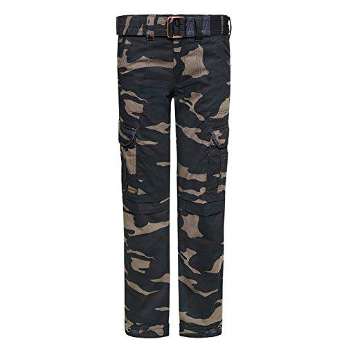 Preisvergleich Produktbild John Doe KAMIKAZE CARGO Hose Slim Cut mit DuPont Kevlar® Faser - Camouflage Größe 28/34
