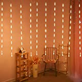 CITRA LED Curtain String Lights 8 Modes Lights for Home,Office, Diwali, Eid & Christmas Decoration (100 led Water Drop…