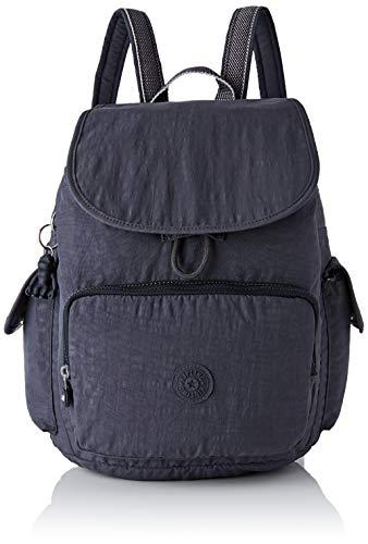 Kipling City Pack, Sacs à dos femme, Gris (Night...