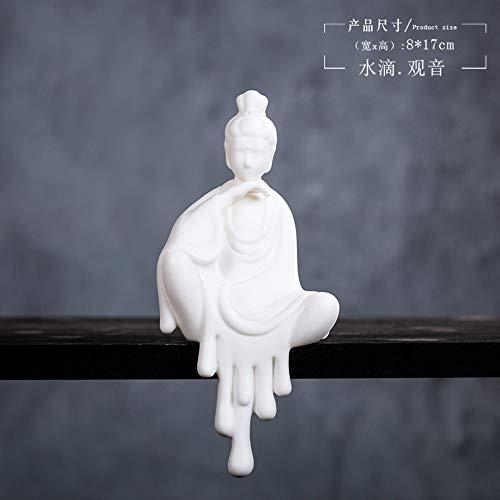 Mini Figurilla De Estilo Chino
