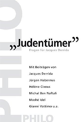 Judentümer. Fragen für Jacques Derrida
