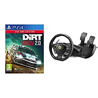 Codemasters - Dirt Rally 2.0 Day One Edition (PlayStation 4) + Thrustmaster T80 RW - Volante Ferrari 488 GTB (PS4, PC) (B07PDL4CMX) | Amazon price tracker / tracking, Amazon price history charts, Amazon price watches, Amazon price drop alerts