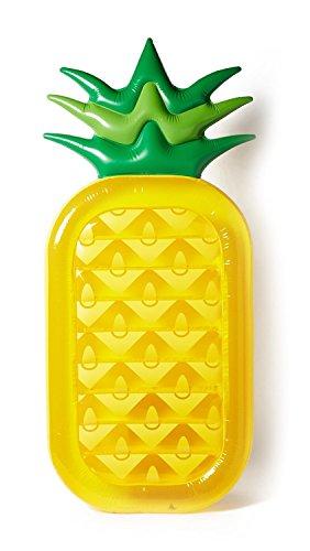 DalosDream Women's Inflatable Pineapple Raft Riesen Ananas Frucht Schwimmring Schwimmer