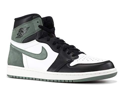 tro High Og - summit white/clay green-black - Basketball-Schuhe-Herren, Größe:13 ()
