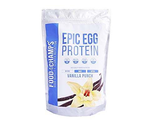 Food 4 Champs Epic Egg, 750g (Vanille) - Vanille Egg Protein