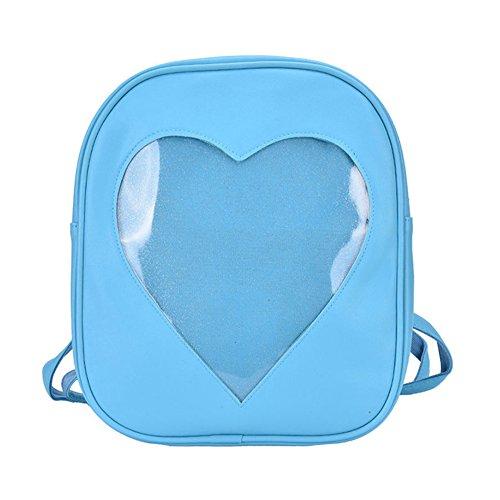 HERME , Damen Rucksackhandtasche Blau