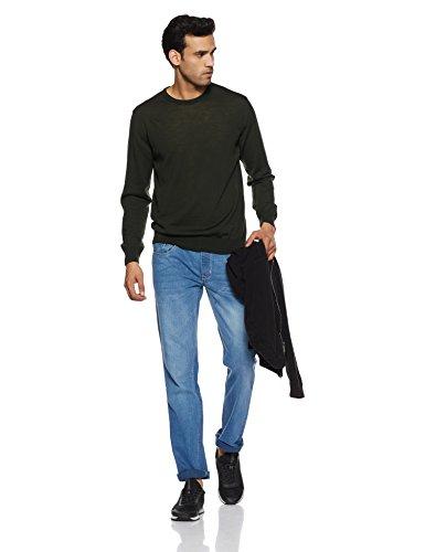 Diverse Men's Slim Fit Jeans (DVD01D2L01-1d_Light Indigo Blue_34W x 33L)