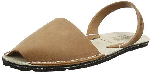 Textura Natural, Sandalias con Correa de Tobillo para Mujer, Beige (Beige), 36 EU Solillas