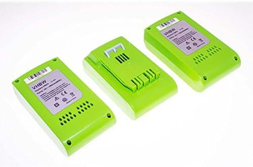 Vhbw 3 x Li-Ion Batteria 2500mAh per utensile elettrico verdeworks verdeworks verdeworks 2400007 Tools 24V 24352, G-24, G24 come 29322, 29807. | Primi Clienti  | Folle Prezzo  | Consegna Immediata  | Abbiamo ricevuto lodi dai nostri clienti.  | Ordine economico  | Numeros e5a863