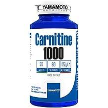 Yamamoto Nutrition Carnitine 1000 integratore alimentare di Carnitina 90 compresse