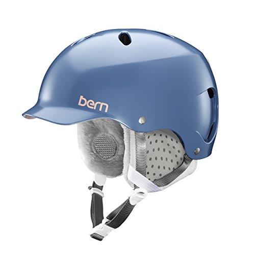 Bern Damen Lenox Helm, Satin Indigo, S