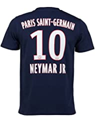 T-shirt PSG - Neymar Junior - N°10 - Collection officielle Paris Saint Germain - Taille adulte