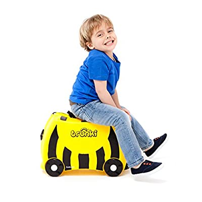 Trunki Ride-on Suitcase - Bernard the Bee (Yellow) - hand-luggage