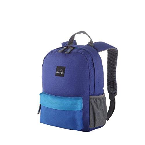 Let\'s Go Jugend/Kinderrucksack KRS/4 12l für Mädchen und Jungen, Retro Style, Robuster Daypack in Verschiedenen Farben