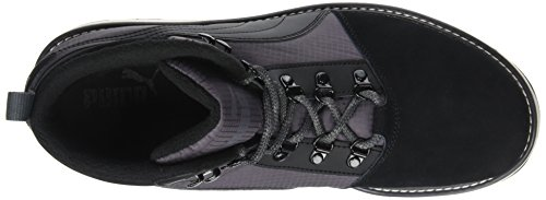 Puma Tatau Fur Boot 2, Baskets Basses Sport Unisexes-black (black-asphalt)