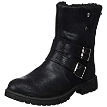 Superfit Girls' Galaxy Snow Boot, Black 0000, 7 UK