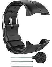pour Polar M400 Montre GPS de Course à Pied Bande de Montre, Polar M430 Montre Running GPS Bracelet de Montre - Accessory Bracelet en Silicone Souple de Sport pour Polar M400/M430 Montre GPS