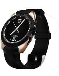 Bluetooth Reloj Inteligente, Seguimiento de la Actividad Smartwatch con Pantalla Táctil/ Monitor Del Ritmo Cardíaco/ Monitor de Dormir/ Cámara Remota/ Contador De Pasos, Smartwatch para Android, IPhone IOS