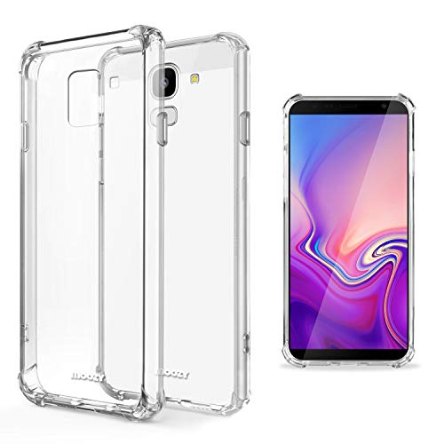 Moozy Funda Silicona Antigolpes Samsung J6 Plus -
