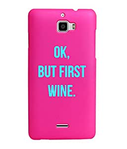KolorEdge Back Cover For Coolpad Dazen 1 - Pink (1530-Ke15077Dazen1Pink3D)