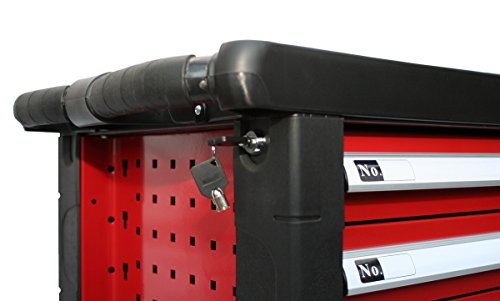 BD-Tools Werkstattwagen bestückt rot - 8