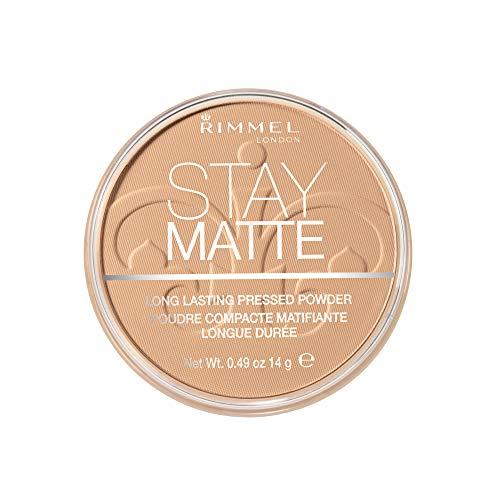 Rimmel London Stay Matte Poudre Compacte 006 Warm Beige -