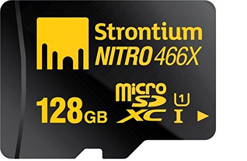 128GB , Single Pack : Strontium Nitro 128GB MicroSDXC Class 10 UHS-I Memory Card Up to 70MB/s (SRN128GTFU1R)