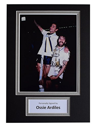 Sportagraphs-Ossie-Ardiles-Signed-Autograph-A4-photo-display-Tottenham-Hotspur-AFTAL-COA-PERFECT-GIFT
