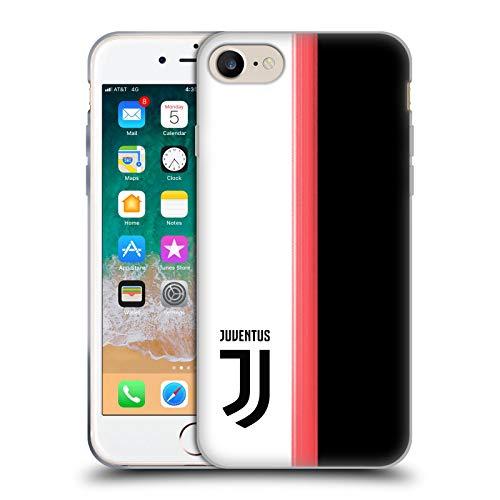 Head Case Designs Offizielle Juventus Football Club Home 2019/20 Race Kit Soft Gel Huelle kompatibel mit iPhone 7 / iPhone 8