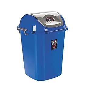 Cello Plastic Esquire Dustbin, Blue, 80 Litre