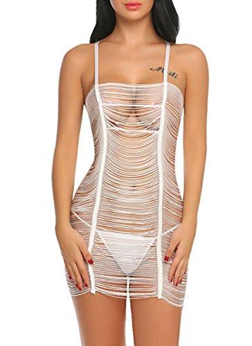 Damen-nachtwäsche Sinnvoll Sexy Seide Nacht Kleid Und Robe Für Frauen Spitze Satin Robe Und Spaghetti Strap Nachthemden Kleid Mini Nighty Set 2 Stück