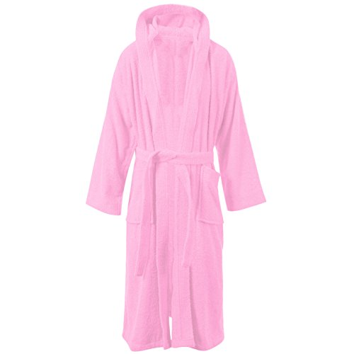 MyShoeStore -  Accappatoio  - Donna Pink / Hooded