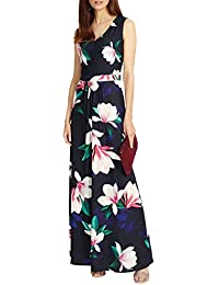 45ccc6bebb859e Phase Eight Magnolia Print Jersey Maxi Dress - Size 8-18