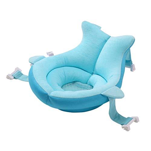 Babybadesets für Unterwegs Baby Shower Can Sit and Lay Baby Net Taschenwannenträger Bad Bett Anti-Rutsch-Suspension Badmatte Sponge Sink Infant Badende und Baby-Bad-Kissen