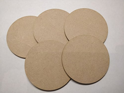 Wooden circles for craft 10 pack 10cm