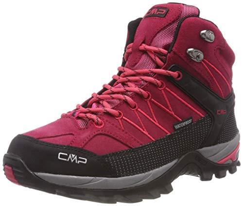 CMP Damen Rigel Mid Trekking-& Wanderstiefel, Rot (Granita-Corallo 72bm), 37 EU