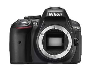 Nikon D5300 Fotocamera Reflex, Lega di Alluminio/Plastica, AF DX / AF-S DX, Nero
