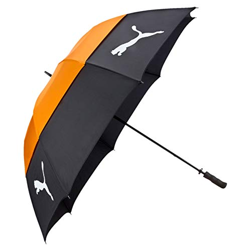 Puma Tour Storm Double Canopy U - black-vibrant orange, Größe:OSFA -